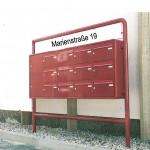 Ihre neue Briefkasten Anlage in Stuttgart