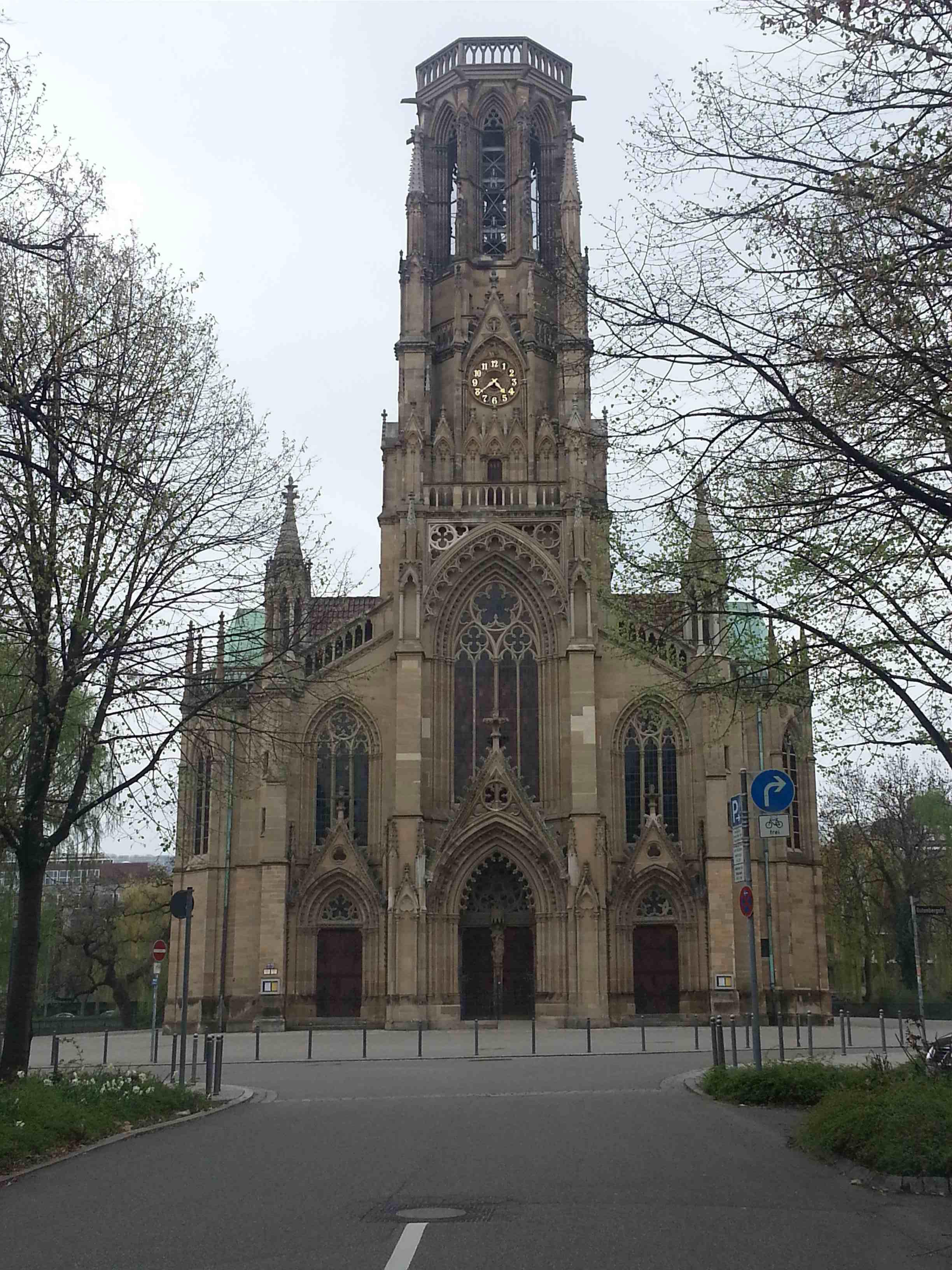 Kirche am Feuersee - Schlüsseldienst Stuttgart hilft auch dort