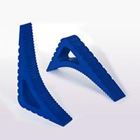 Türstopper Blau