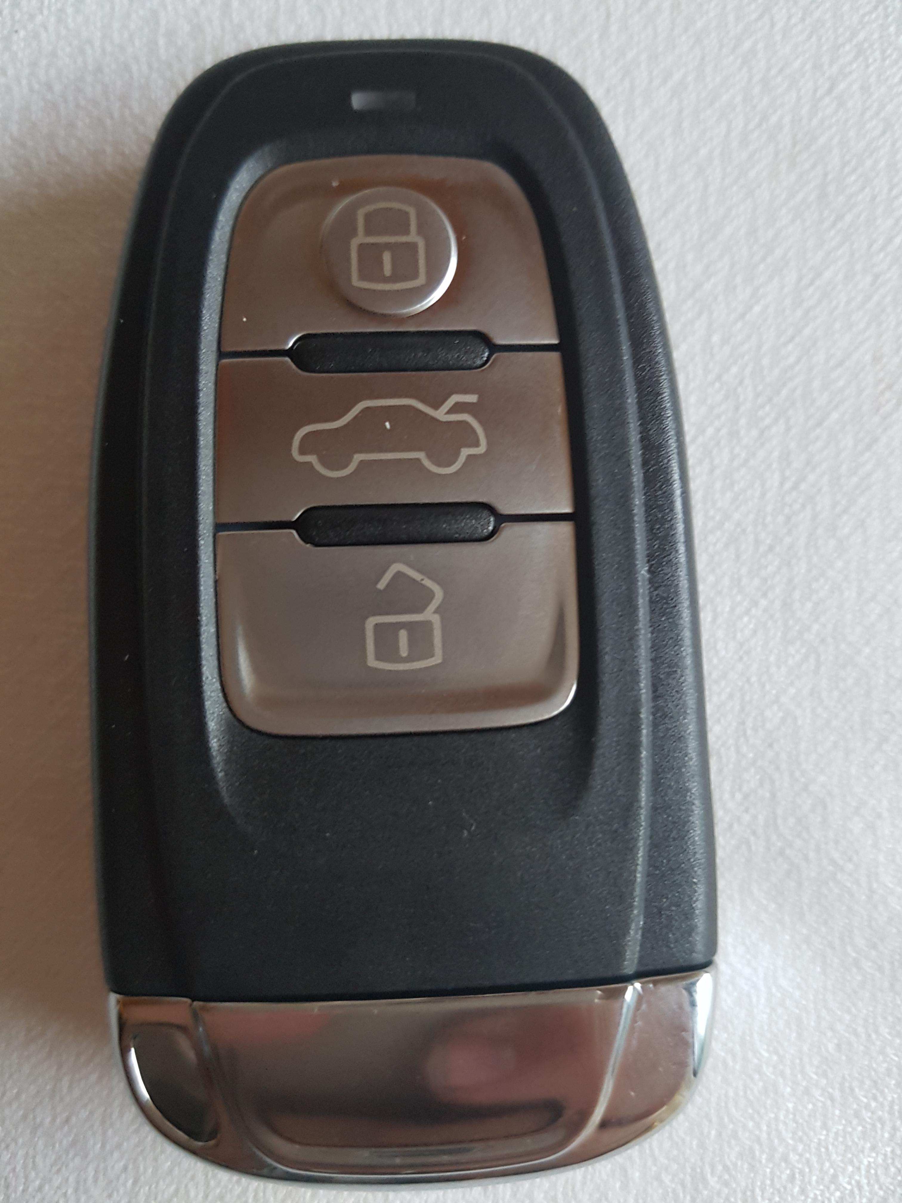 Audi A5 Autoschlüssel kopieren