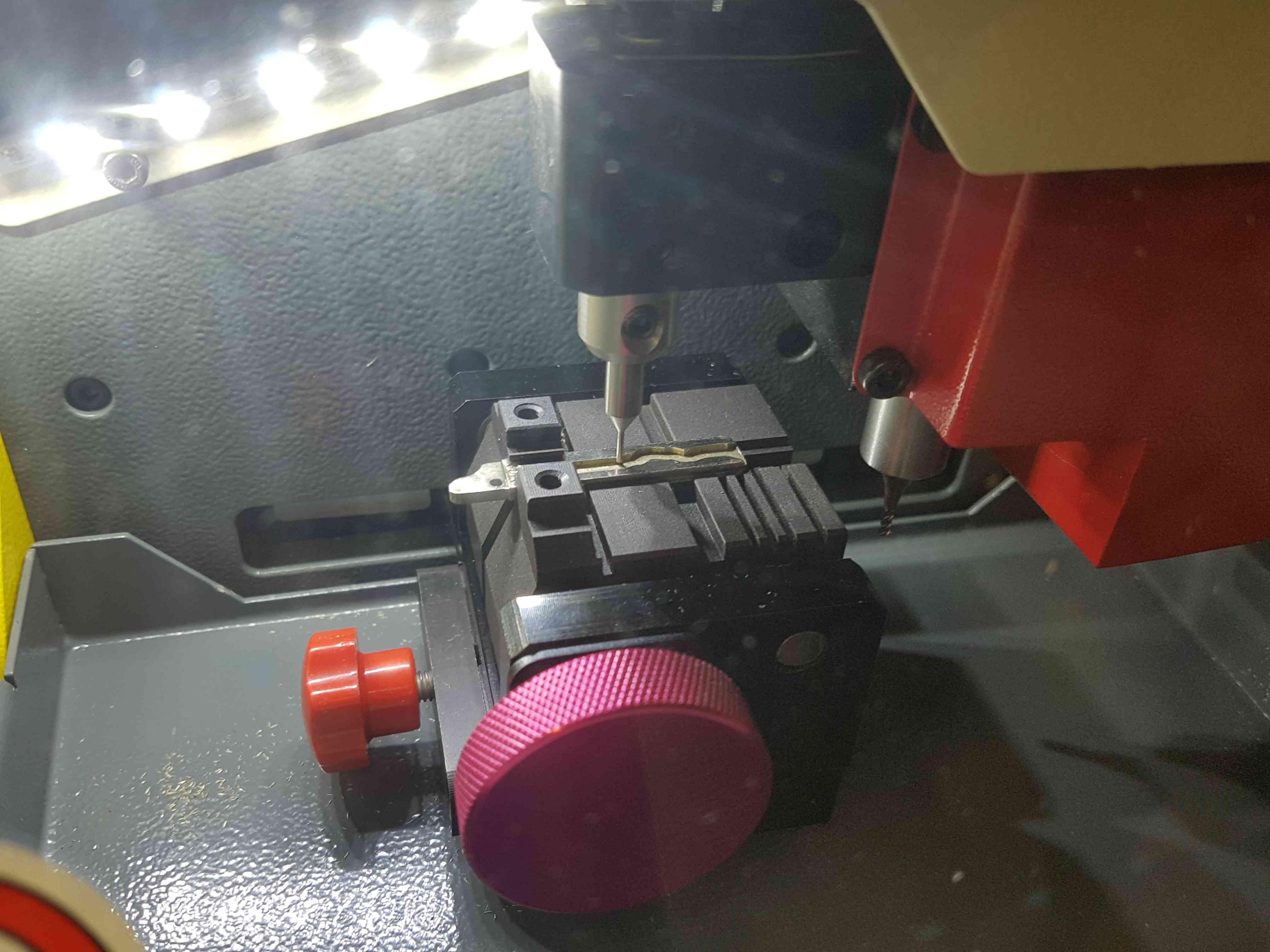Autoschlüssel Fräsmaschine