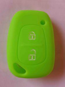 Autoschlüssel-Farbhülle-grün
