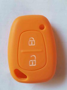 Autoschlüssel Farbhülle orange